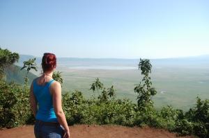 Blick in den Ngorongoro