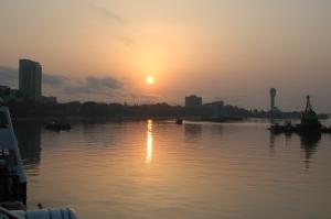 Der Hafen von Dar.