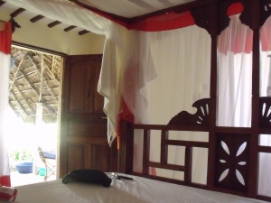 Unser Zimmer, unser Himmelbett
