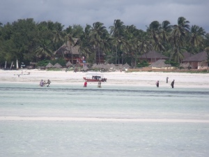 Der Strand von Paje