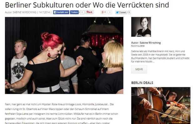 Berliner Subkulturen